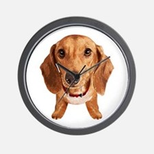 Dachshund002 Wall Clock