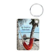 Hammock on the Beach - Ret Keychains