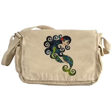 Aquamarine Messenger Bag
