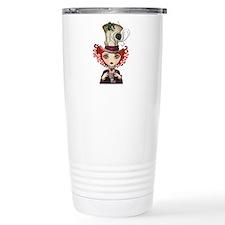 Lady Hatter Travel Coffee Mug