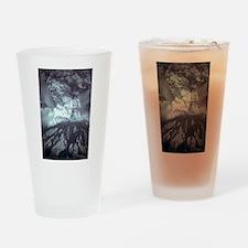 Mount St Helens Volcano Drinking Glass