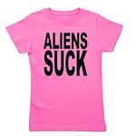 alienssuck.png Girl's Tee