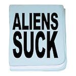 alienssuck.png baby blanket