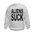 alienssuck.png Kids Sweatshirt