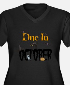 Due In October Plus Size T-Shirt