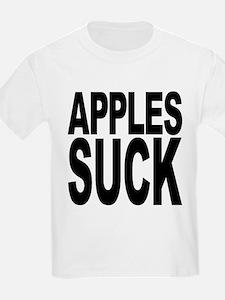 applessuckblk.png T-Shirt