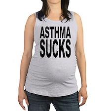 asthmasucks.png Maternity Tank Top