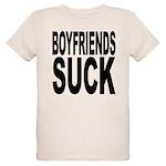 boyfriendssuckblk.png Organic Kids T-Shirt