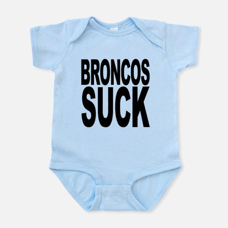 broncossuck.png Infant Bodysuit
