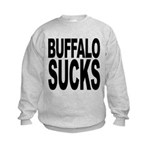 buffalosucks.png Kids Sweatshirt