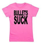 bulletssuck.png Girl's Tee