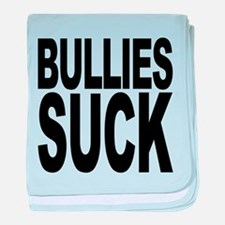 bulliessuckblk.png baby blanket