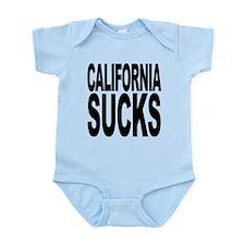 2-californiasucks.png Infant Bodysuit