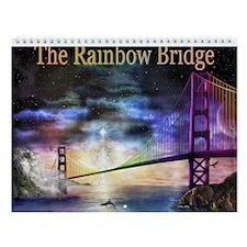 Cute Rainbow bridge Wall Calendar