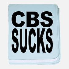 cbssucks.png baby blanket