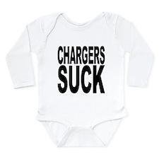 chargerssuck.png Long Sleeve Infant Bodysuit
