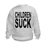 childrensuck.png Kids Sweatshirt