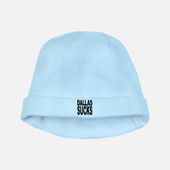 dallassucksblk.png baby hat