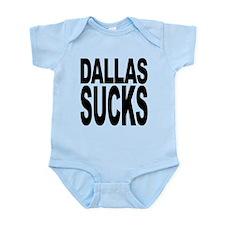 dallassucksblk.png Infant Bodysuit