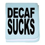 decafsucks.png baby blanket