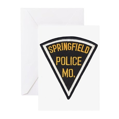 Springfield Police Greeting Cards (Pk of 10)