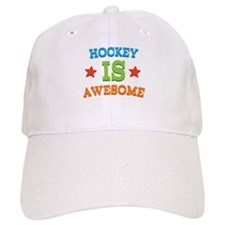 Hockey Is Awesome Baseball Cap