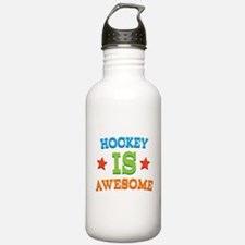 Hockey Is Awesome Water Bottle