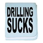 drillingsucks.png baby blanket