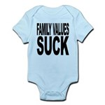 familyvaluessuck.png Infant Bodysuit