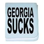 georgiasucks.png baby blanket