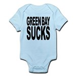 greenbaysucksblk.png Infant Bodysuit