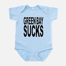 greenbaysucksblk.png Infant Bodysuit