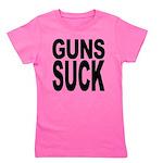 gunssuck.png Girl's Tee