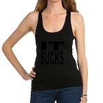 itsucksblk.png Racerback Tank Top