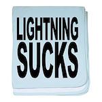 lightningsucks.png baby blanket