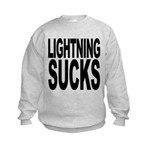 lightningsucks.png Kids Sweatshirt