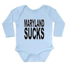 marylandsucks.png Long Sleeve Infant Bodysuit