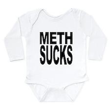 methsucks.png Long Sleeve Infant Bodysuit