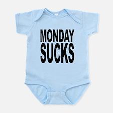 mondaysucksblk.png Infant Bodysuit