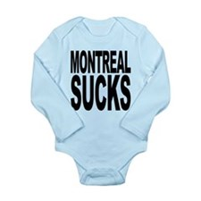 montrealsucks.png Long Sleeve Infant Bodysuit