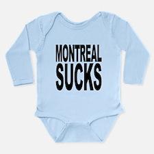 montrealsucks.png Long Sleeve Infant Bodysuit