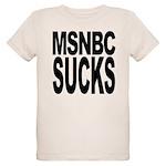msnbcsucksblk.png Organic Kids T-Shirt