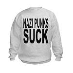 nazipunkssuck.png Kids Sweatshirt