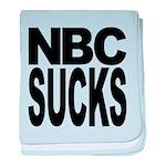 nbcsucksblk.png baby blanket