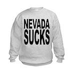 nevadasucks.png Kids Sweatshirt