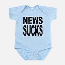 newssucks.png Infant Bodysuit