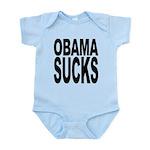 obamasucksblk.png Infant Bodysuit