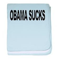 obamasuckslong.png baby blanket