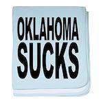 oklahomasucks.png baby blanket