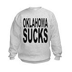 oklahomasucks.png Kids Sweatshirt